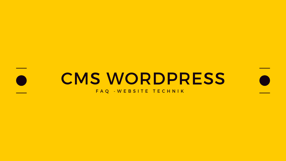 Content Management System Wordpress