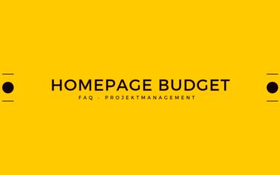 Budget: Was kostet eine Homepage