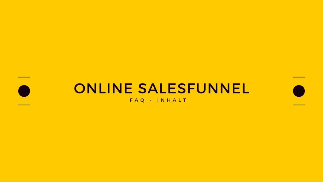 Online Salesfunnel – Was heißt das?